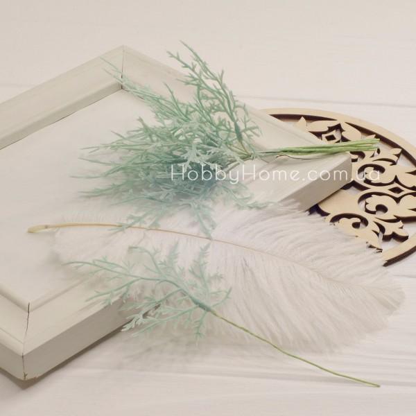 Гілка Туї декоративна 15см , світло зелена