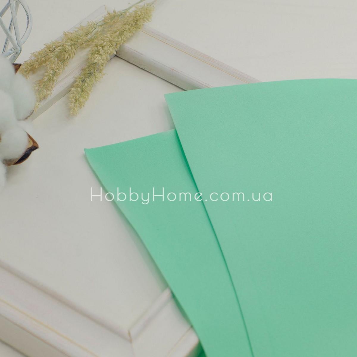 Фоамиран иранский 60х70 Весенне зелёный