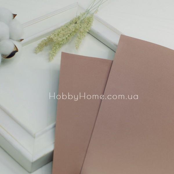 Фоаміран іранський 60х70 Світло коричневий
