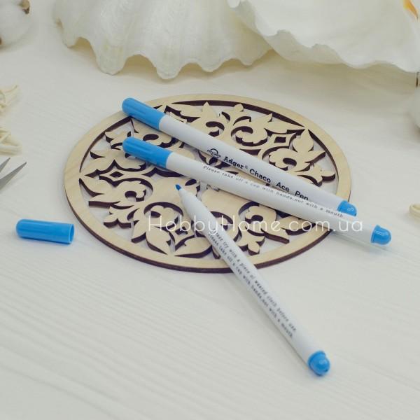 Маркер що стирається для тканини і фетра , блакитний