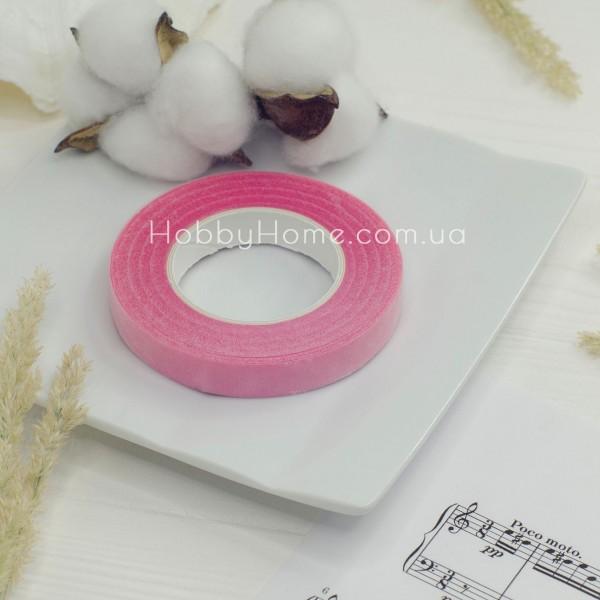 Тейп стрічка флористична 30 метрів , рожева