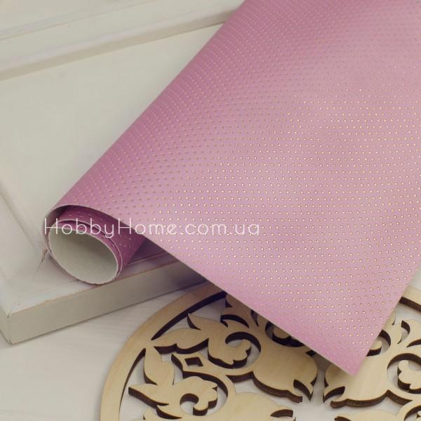 Шкірзам Горошок , рожевий