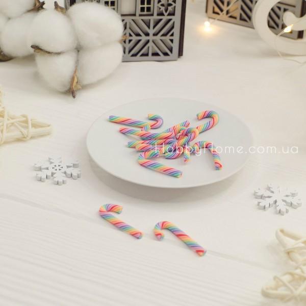Патч леденец рождественский зонтик , цветные
