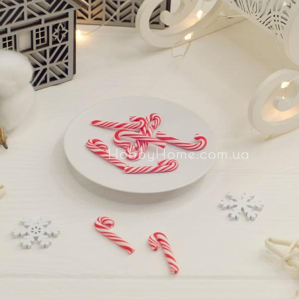 Патч льодяник різдвяний парасолька , червоні