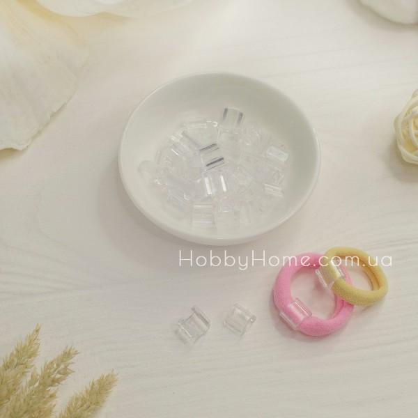 Пластикова основа для резинки , прозора середня