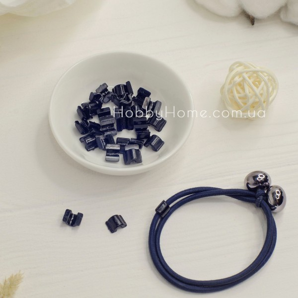 Пластикова основа для резинки , чорна маленька