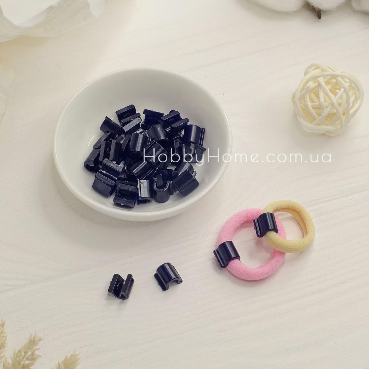 Пластикова основа для резинки , чорна середня