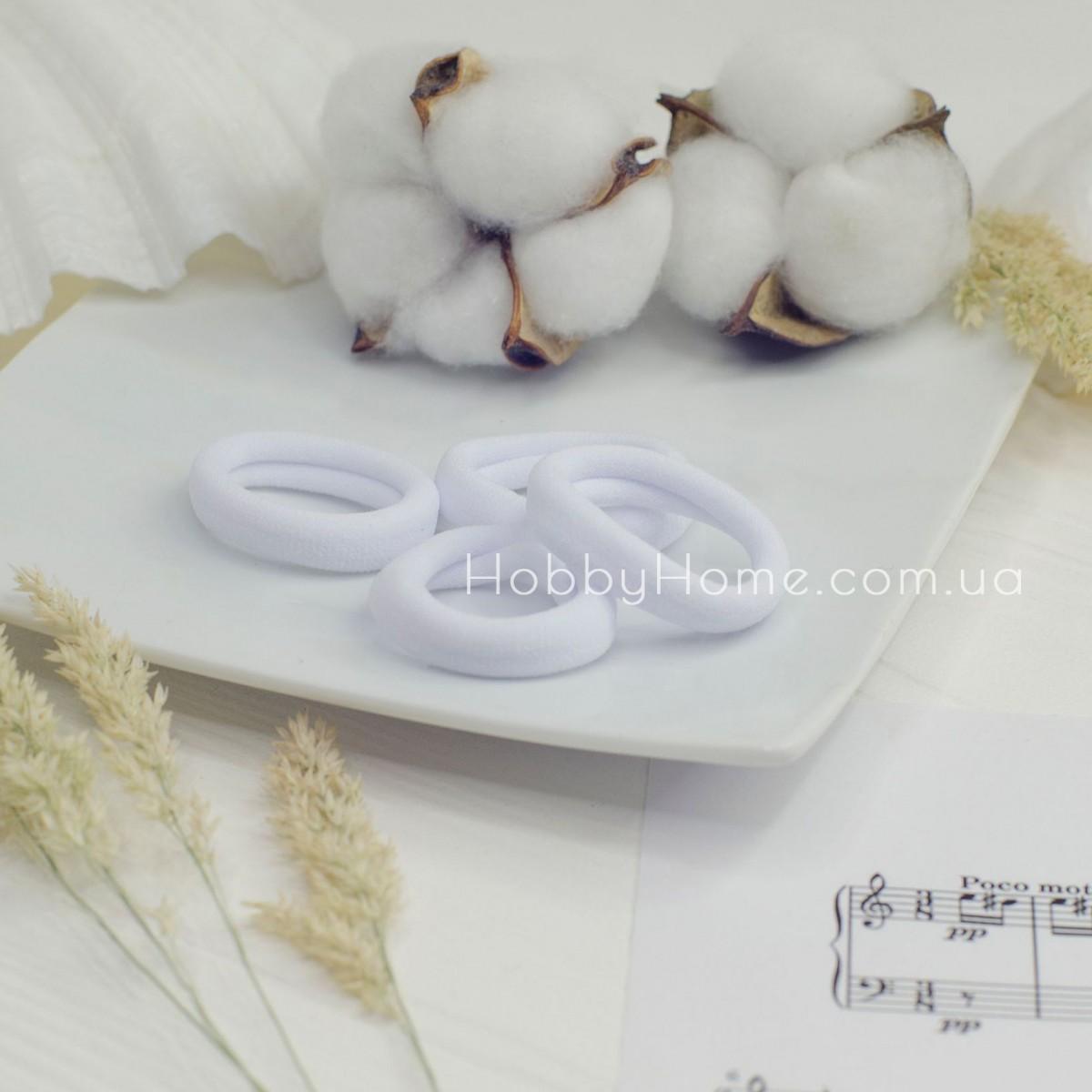 Резинка основа 4см біла