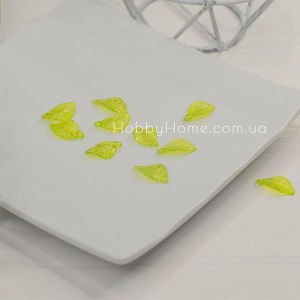 Лист акриловий маленький , зелений
