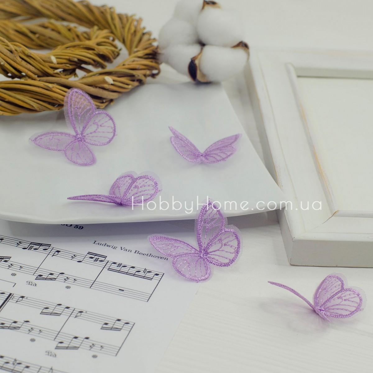 Метелики ажурні , бузкові