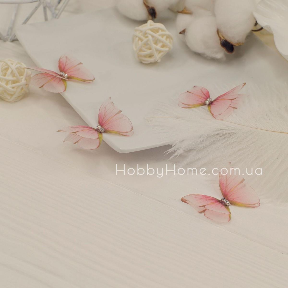 Метелики шифонові Морфо , пудра