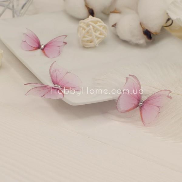 Метелики шифонові Морфо , рожеві
