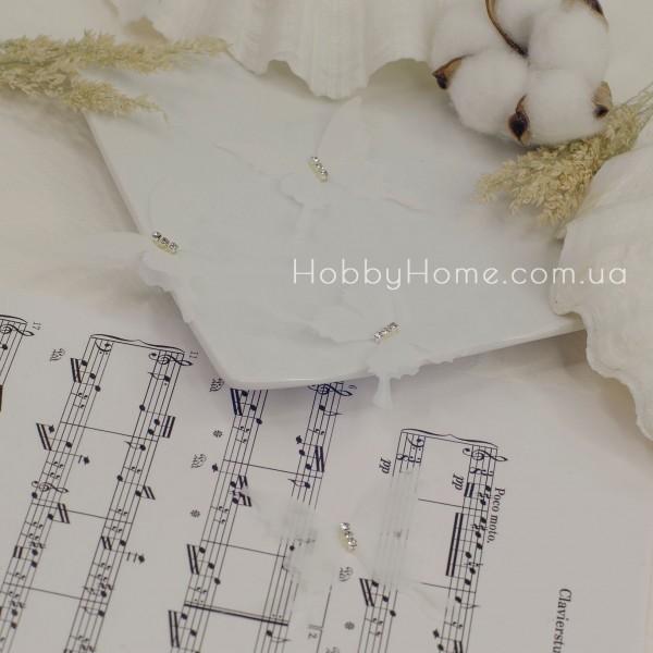 Метелики шифонові , білі
