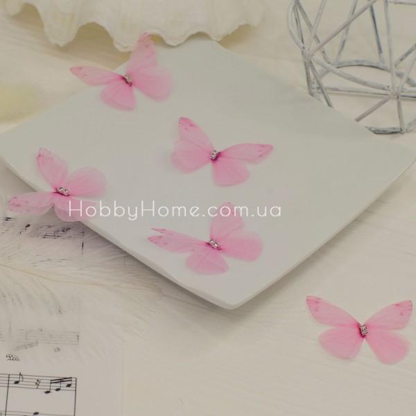 Метелики шифонові , ніжно рожеві