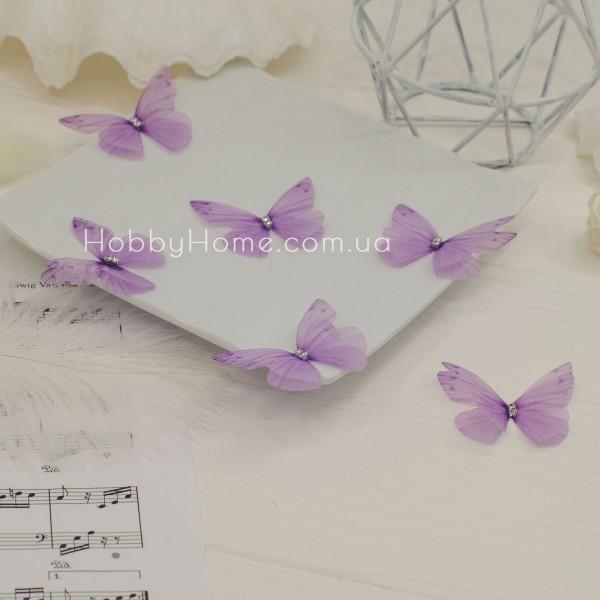 Метелики шифонові , ніжно фіолетовий
