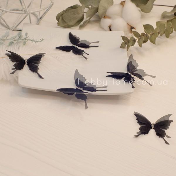 Метелики шифонові , чорні