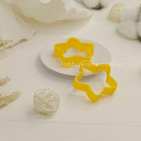 Форма для валяння велика Зірка, жовтий