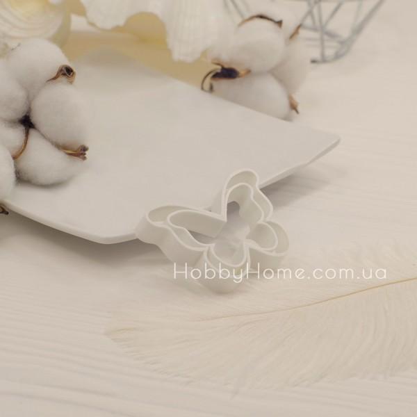 Форма для валяння Метелик великий , біла