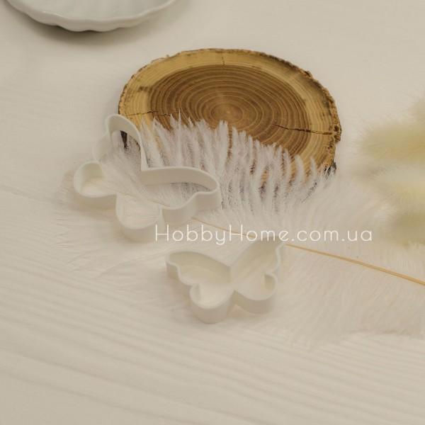 Форма для валяння Метелик маленька , біла